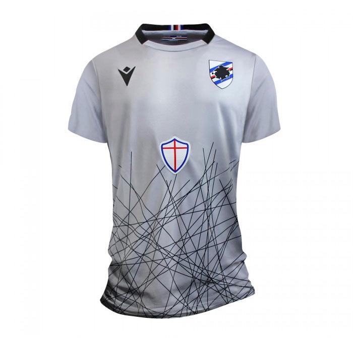 Maglia portiere Sampdoria grigia 2020-2021