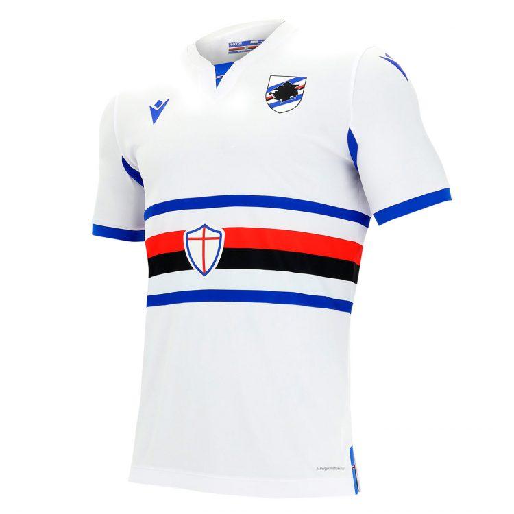Seconda maglia Sampdoria bianca 2020-21