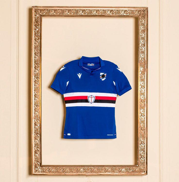 Maglia Sampdoria su tela 2020-21