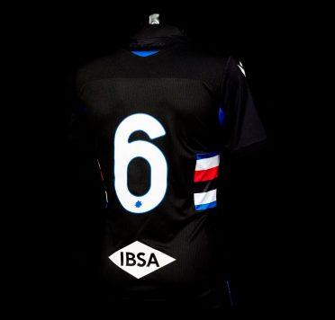 Retro terza maglia Sampdoria nera 2020-21