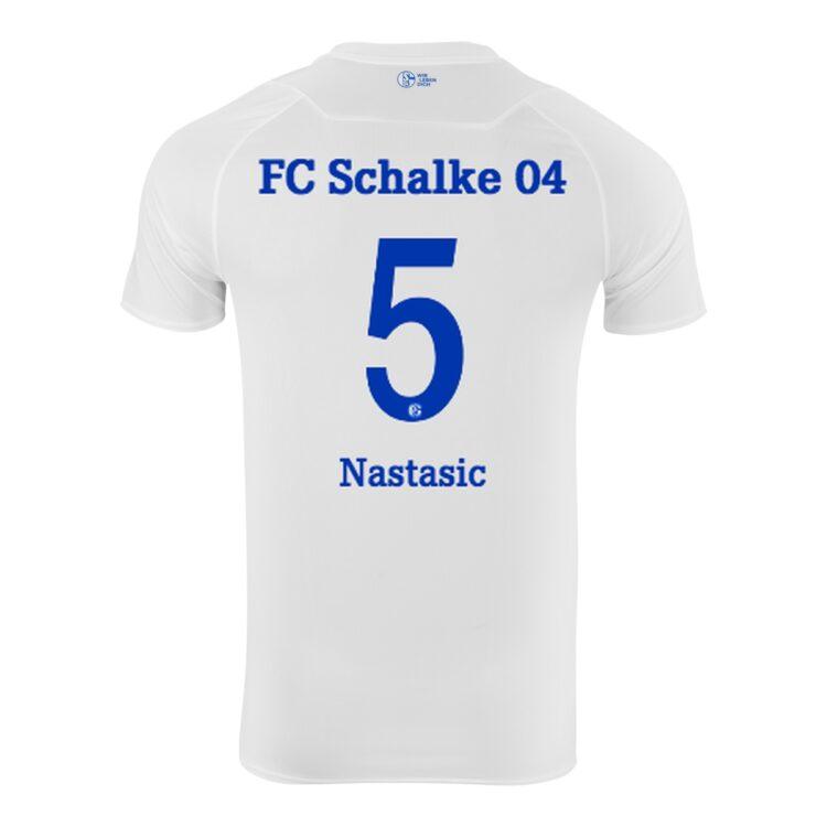 Maglia Schalke 04 bianca 2020-21 away