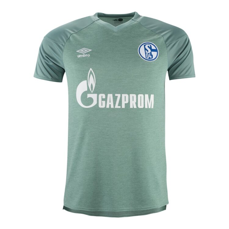 Terza maglia Schalke 04 verde 2020-21