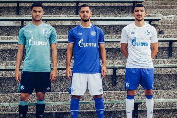 Le maglie dello Schalke 04 2020-2021 Umbro