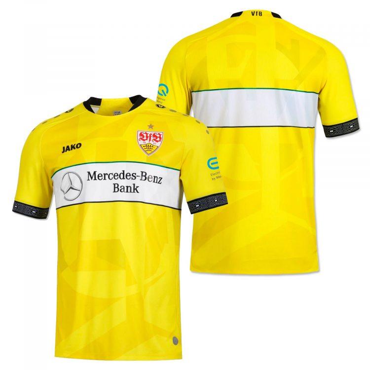 Stoccarda maglia portiere gialla