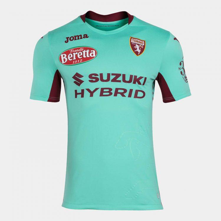 Terza maglia Torino 2020-21 turchese
