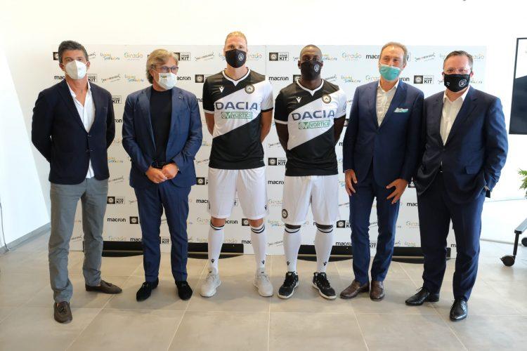 Presentazione maglia Udinese 2020-21