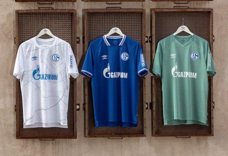 Maglie Umbro per lo Schalke 04 2020-21