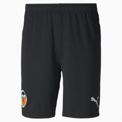 Pantaloncini Valencia home neri 2020-21