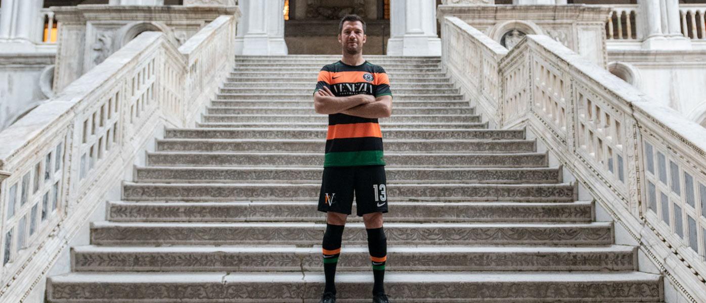 Presentazione nuova maglia Venezia 2020-21
