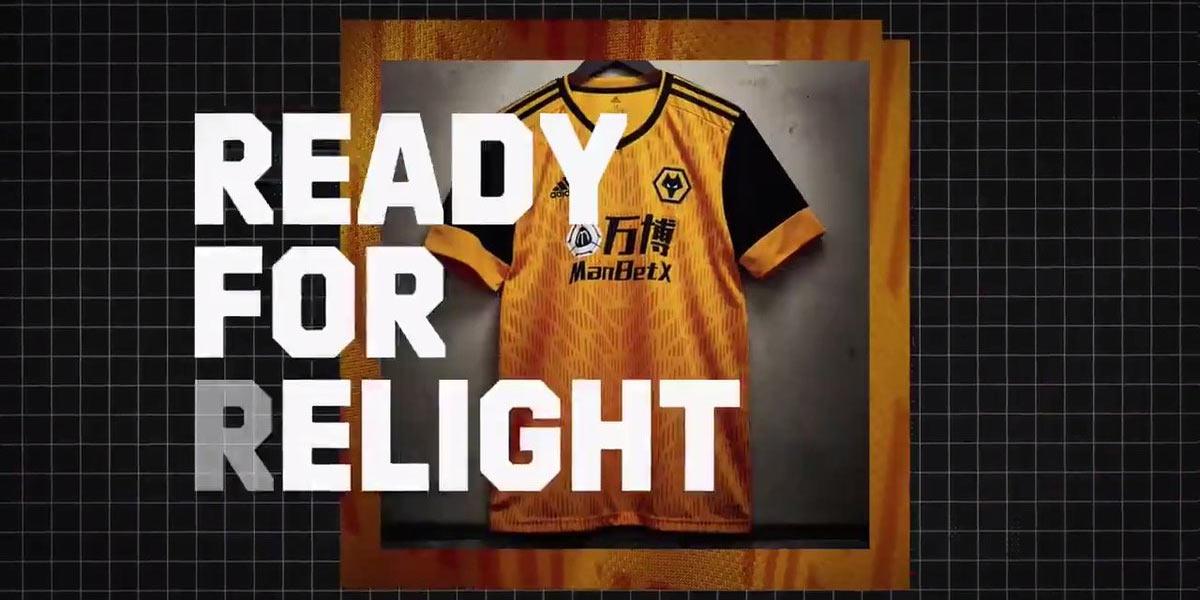 Maglie Wolverhampton 2020-2021, la campagna Ready For Relight