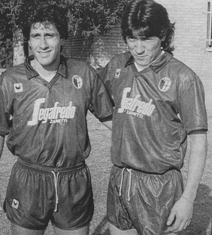 Bologna 1988 Hugo Rubio e Iván Zamorano