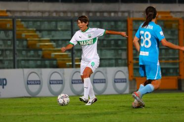 Seconda maglia Sassuolo bianca 2020-21