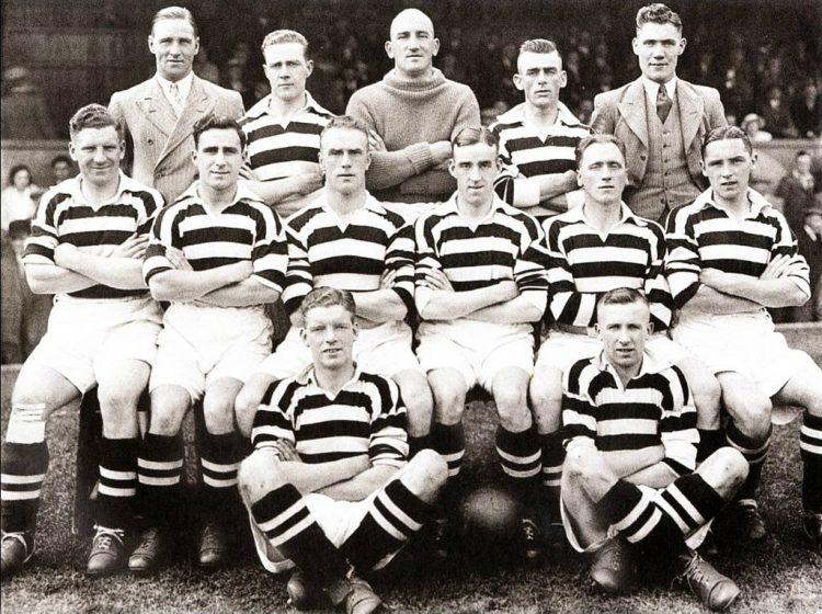 Seconda maglia Manchester United 1934
