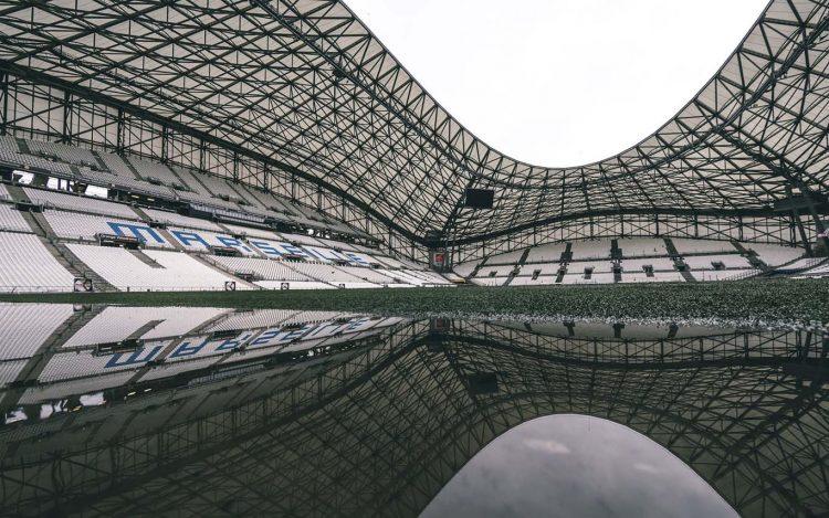 Interno Velodrome stadio