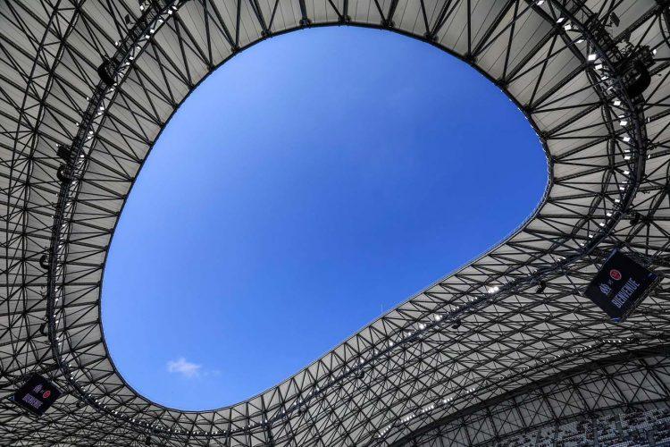 Particolare stadio Marsiglia Velodrome