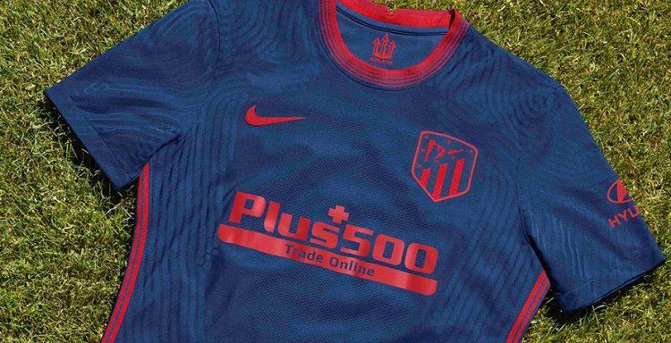Dettaglio maglia Atletico Madrid away 2020-21