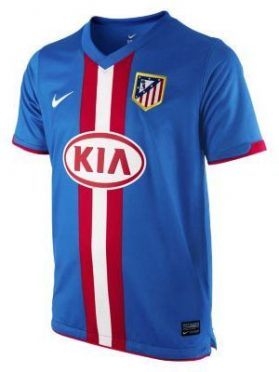 Seconda maglia Atletico Madrid 2010-11