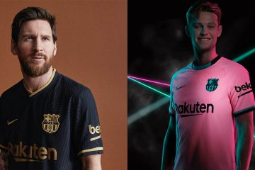 Barcellona Nike 2020-21 maglie away e third