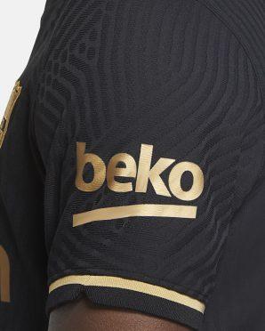 Sponsor Beko dorato Barcellona