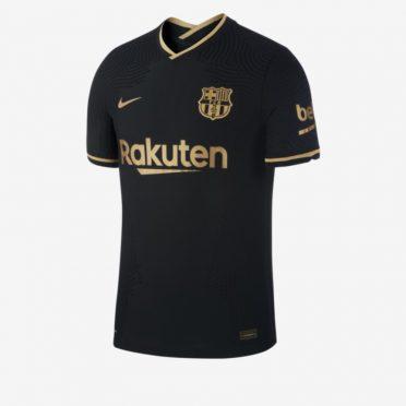 Seconda maglia Barcellona 2020-2021 nera