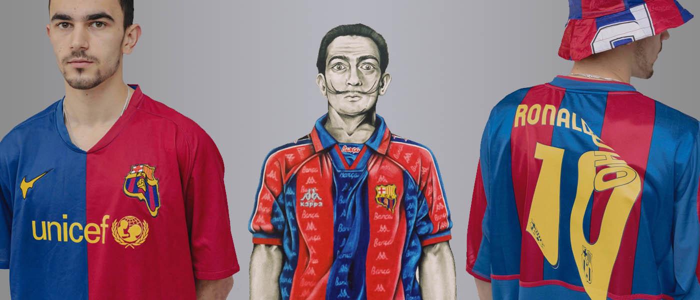 Barcelona Dali Art Melted Shirt