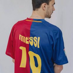 Barcelona Melting Messi Shirt Dali