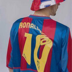 Barcelona Melting Ronaldinho Shirt Dali