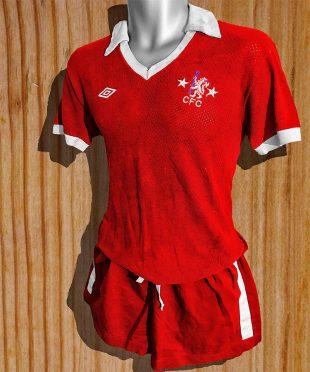 Maglia Chelsea away 1976-1977