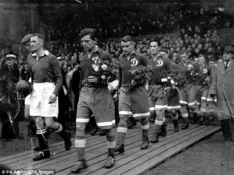 Chelsea-Dinamo Mosca 1945