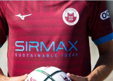 Maglia Cittadella 2020-21 home sponsor