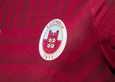 Maglia Cittadella 2020-21 home stemma club