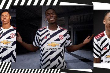 Manchester United terza maglia 2020-21