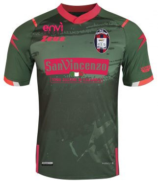 Terza maglia Crotone verde 2020-21