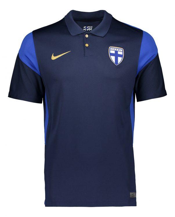 Seconda maglia Finlandia 2020-21 fronte