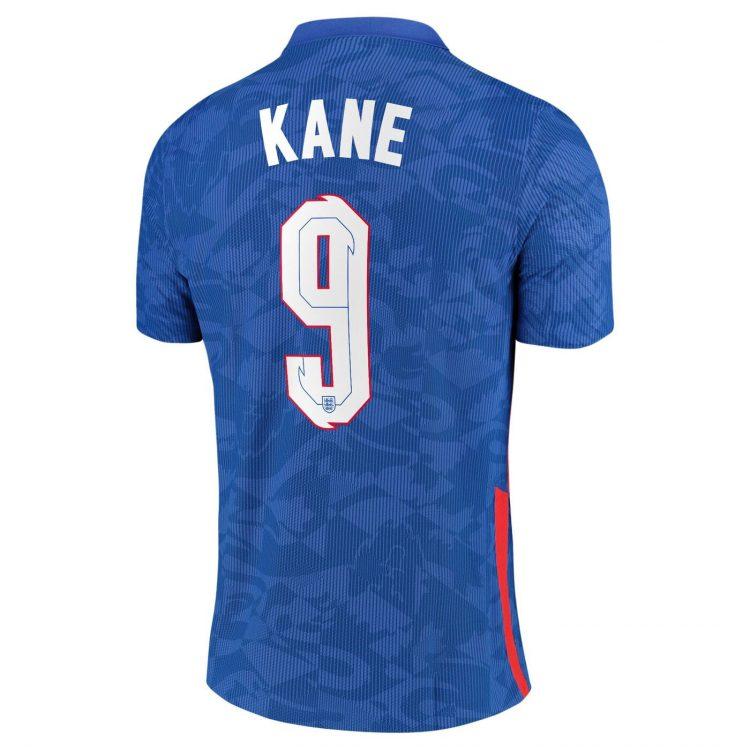 Seconda maglia Inghilterra 2020-21 Kane 9