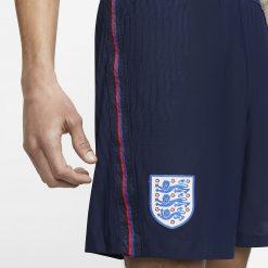 Dettaglio pantaloncini Inghilterra blu 2020-21