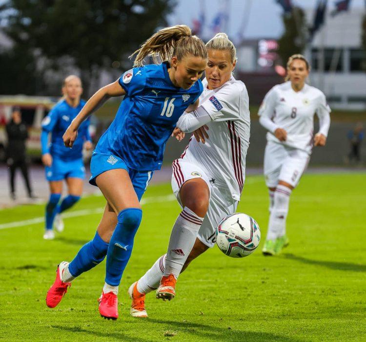 Islanda femminile vs lettonia 2020