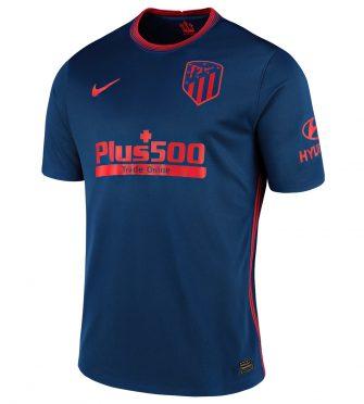 Seconda maglia Atletico Madrid 2020-2021 blu