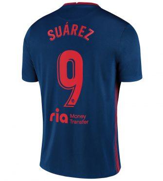 Seconda maglia Atletico Madrid 2020-2021 Suarez 9