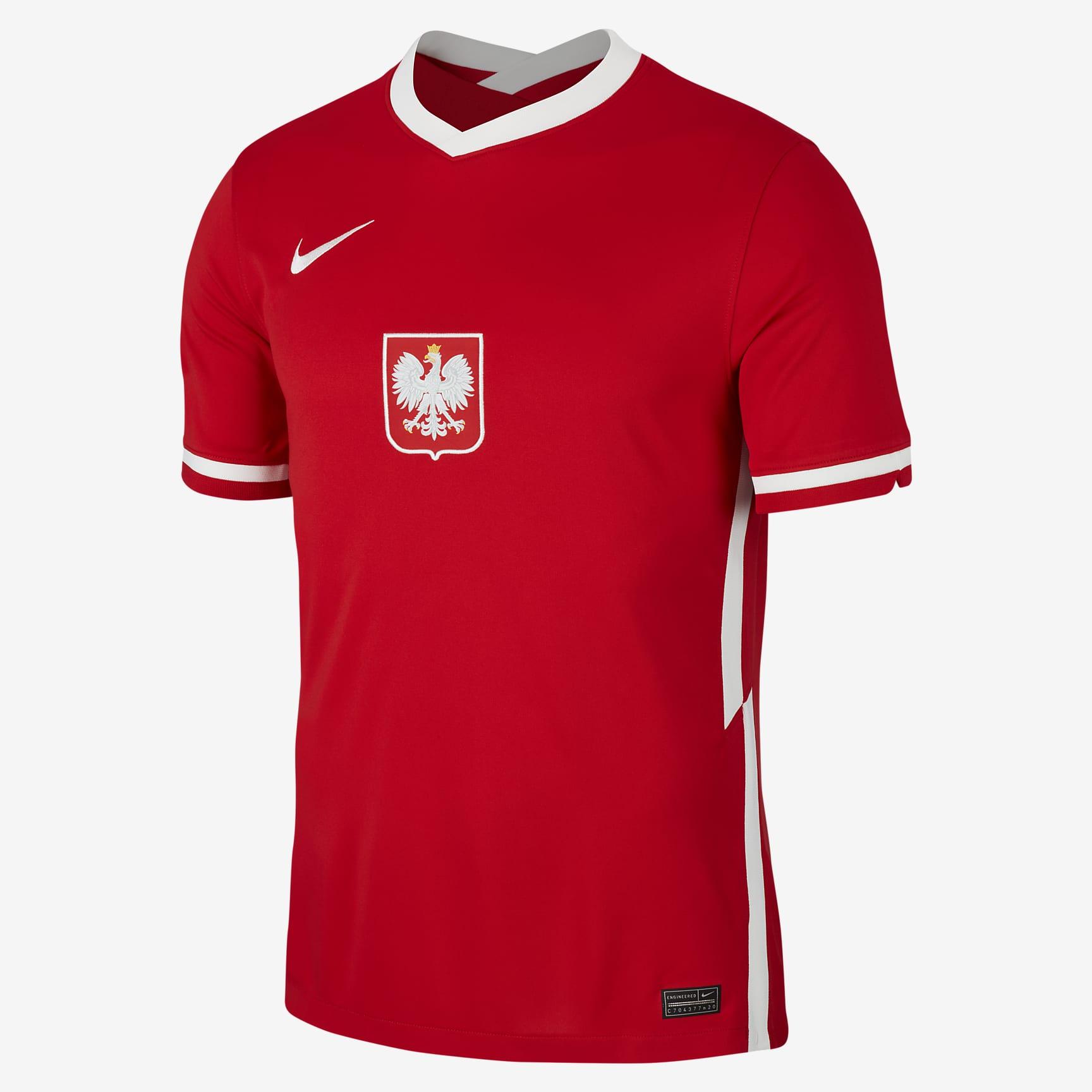 Maglie Polonia 2020-2021, Nike si ispira al passato