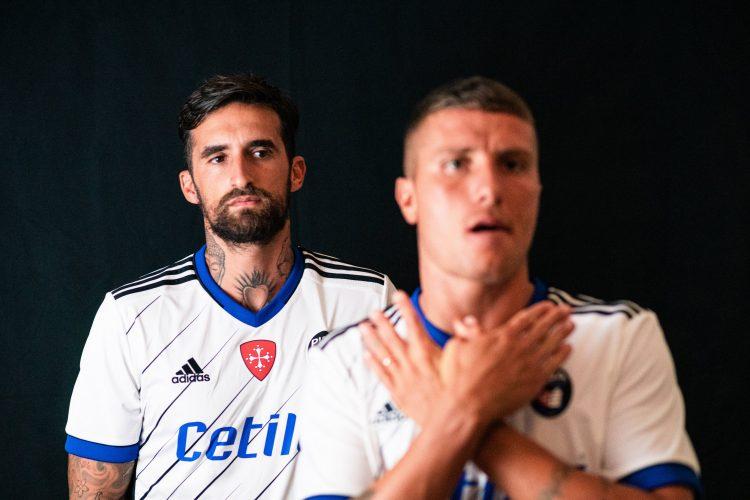 Seconda maglia Pisa 2020-21 bianca