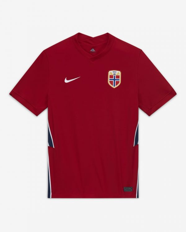 Maglia Norvegia 2020-2021 rossa