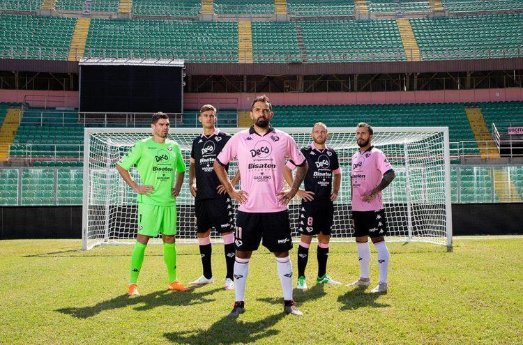 Le divise del Palermo 2020-2021 Kappa