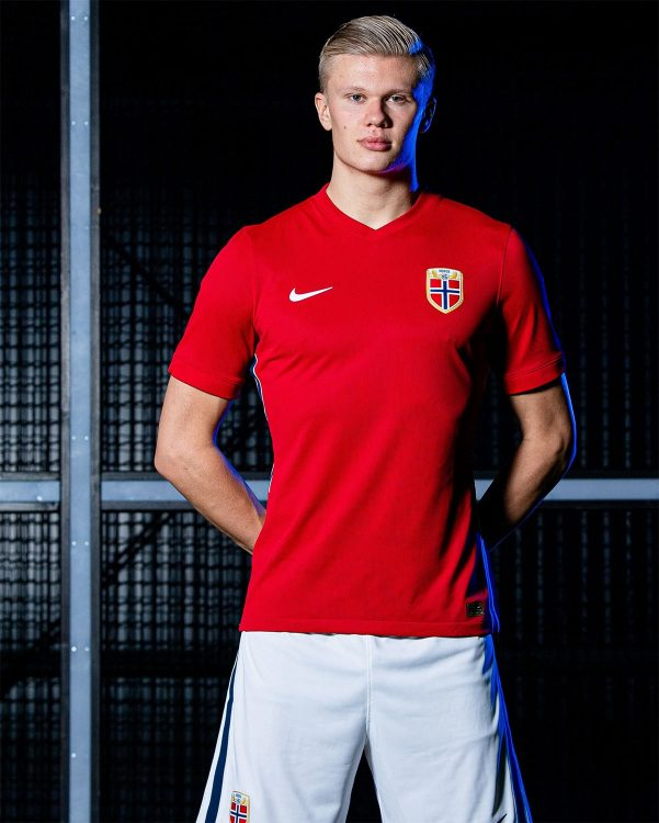 Haaland prima maglia Norvegia 2020