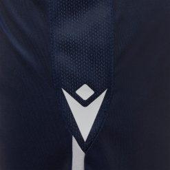 Pantaloncini blu Bologna 2020-21 logo Macron