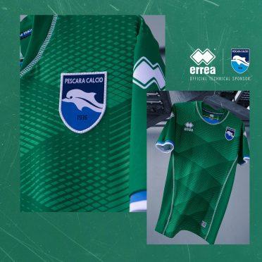 Seconda maglia Pescara verde 2020-21