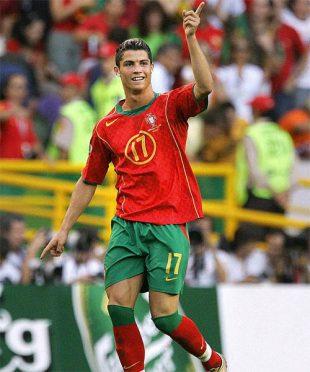 Cristiano Ronaldo Europei 2004