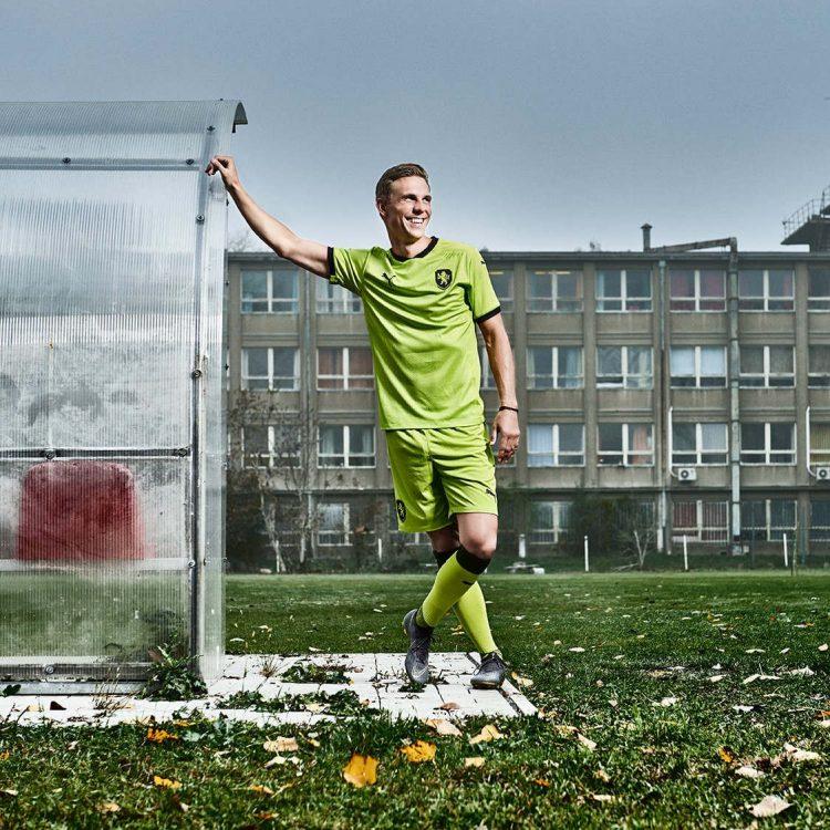 Seconda maglia Repubblica Ceca 2020-2021