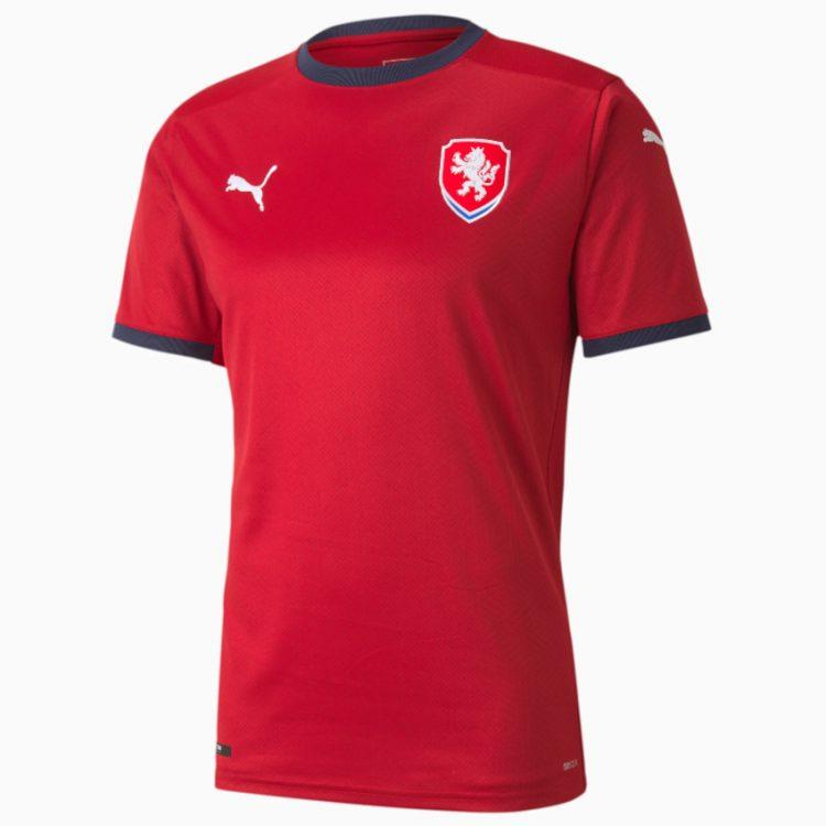 Prima maglia Repubblica Ceca 2020-2021