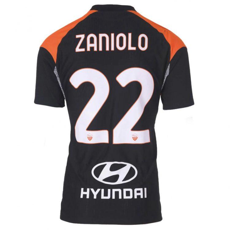 Terza maglia Roma 2020-2021 Zaniolo 22